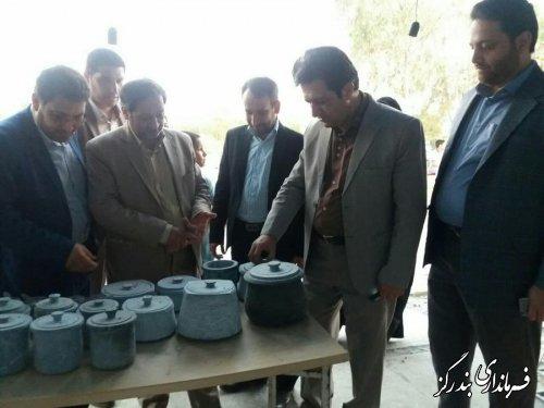 نمایشگاه صنایع دستی و سوغات در بندرگز گشایش یافت