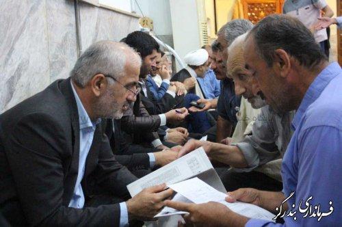 دیدار مسئولان قضایی گلستان با مردم بندرگز