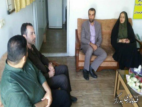معاون سیاسی ، امنیتی فرماندار بندرگز از مرکز ترک اعتیاد بازدید کرد