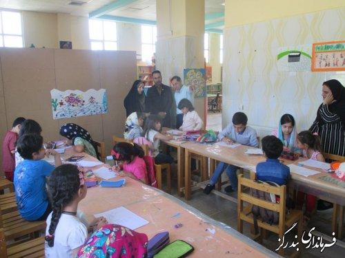 برگزاری مسابقه نقاشی کودکان با موضوع پیشگیری اعتیاد در بندرگز
