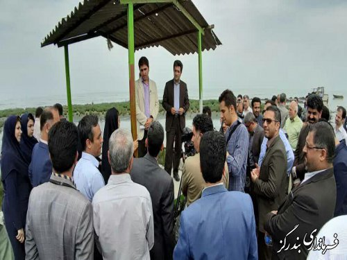بازدید مدیران روابط عمومی دستگاه های اجرایی گلستان از خلیج گرگان