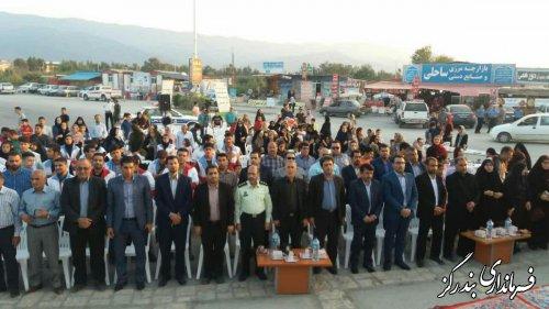 آئین گرامیداشت روز ملی دریای خزر در بندرگز برگزار شد