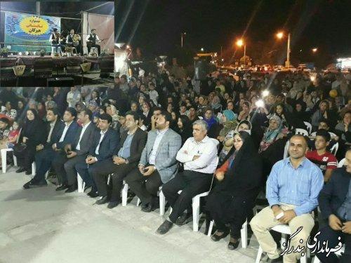 جشنواره تابستانی هیرکان در بندرگز برگزار شد