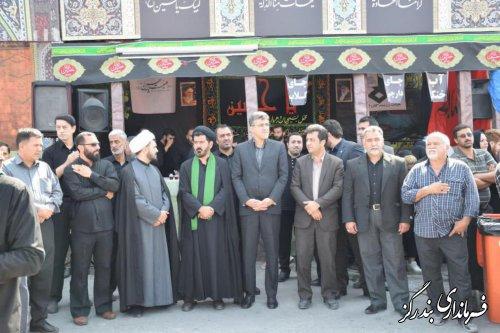 عزاداری روز عاشورا در بندرگز برگزار شد