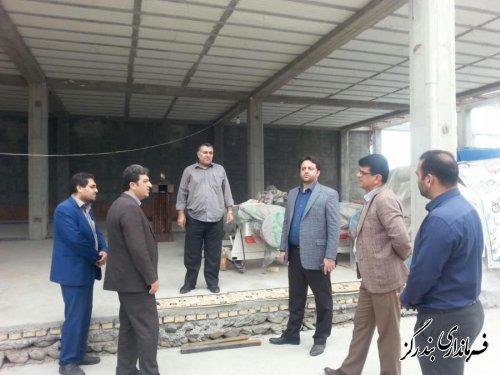 بازدید  فرماندار بندرگز از کارگاه قالیشویی و مبل شویی انزان