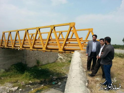 بازسازی دیواره پل های خسارت دیده از سیل اخیر تسریع شود