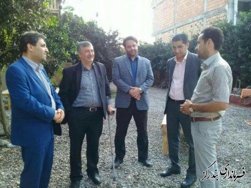 بازدید معاون عمرانی استاندار گلستان از اقامتگاه بوم گردی در بندرگز