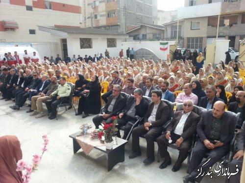 مدرسه خیرساز 6 کلاسه در بندرگز به بهره برداری رسید