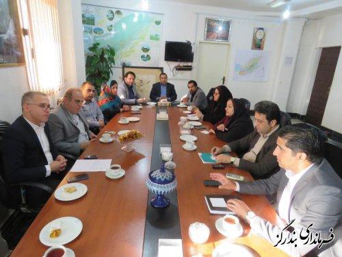 دیدار پدرگردشگری ایران با فرماندار بندرگز
