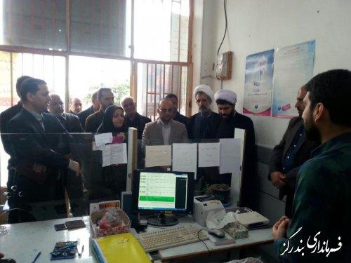 افتتاح نخستین دفتر پیشخوان وقف روستایی گلستان در بندرگز