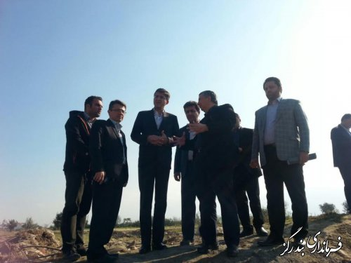 بازدید نماینده مجلس شورای اسلامی و معاون استاندار از مناطق سیلزده نوکنده