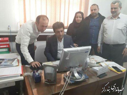 مانور سامانه جامع انتخابات در بندرگز برگزار شد