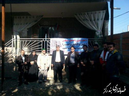 بهره برداری از 80 واحد مسکونی نوسازی شده در بندرگز
