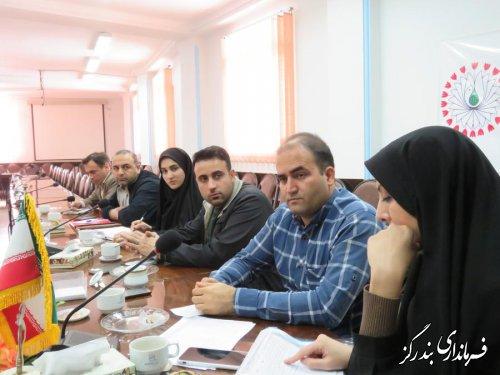 جلسه كميته فناوري اطلاعات ستاد انتخابات شهرستان بندرگز برگزار شد