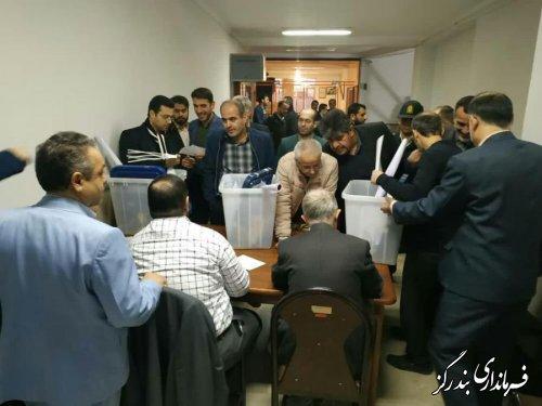 تحويل 53 صندوق اخذ راي مجلس شوراي اسلامي در بندرگز
