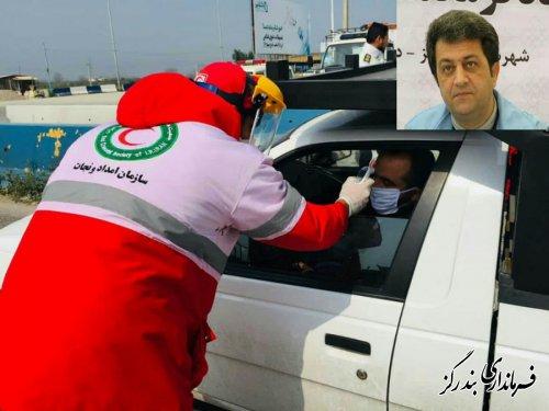 بیش از ۱۰۰ هزار نفر در خروجی استان گلستان تب سنجی شدند