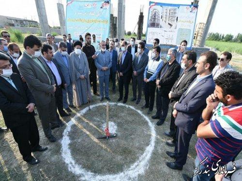 مرحله نخست احداث واحدهای مسکونی طرح اقدام ملی مسکن در بندرگز آغاز شد