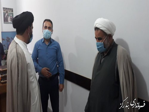 دیدار امام جمعه بندرگز با اعضای کمیته اطلاع رسانی ستاد انتخابات