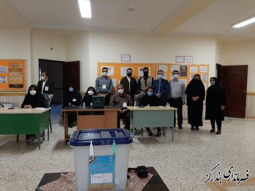 20 خبرنگار اخبار انتخابات مجلس شورای اسلامی در بندرگز را پوشش دادند
