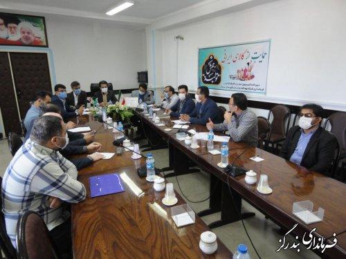 دومین جلسه کلینیک عارضه یابی واحدهای تولیدی و صنعتی گلستان در بندرگز برگزار شد