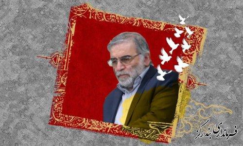 شهادت شهید والامقام ، دکتر محسن فخریزاده از دانشمندان برجسته هستهای تسلیت باد