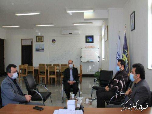 دیدار فرماندار بندرگز با مدیرکل کمیته امداد گلستان