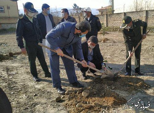 آیین درختکاری در شهرستان بندرگز برگزار شد