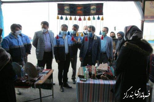 برپایی نمایشگاه صنایع دستی در نوکنده