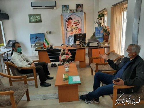 بخشدار نوکنده به درخواست های مردمی رسیدگی کرد