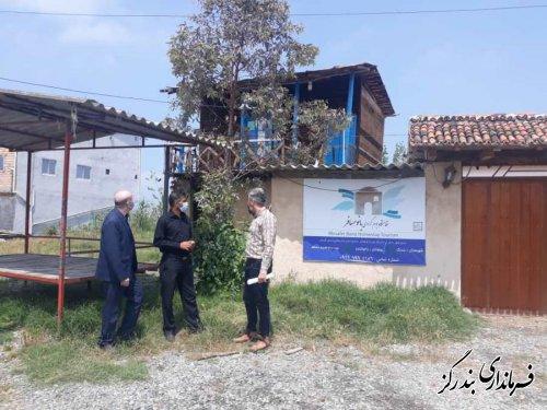 بازدید کمیته دهگردشی بخش مرکزی بندرگز از روستای باغو کناره