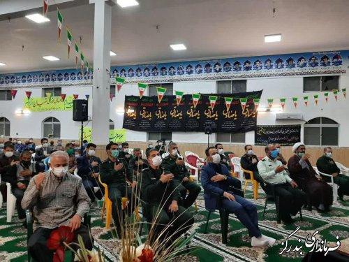 آیین گرامیداشت سالروز ارتحال حضرت امام (ره) و قیام 15 خرداد در نوکنده برگزار شد