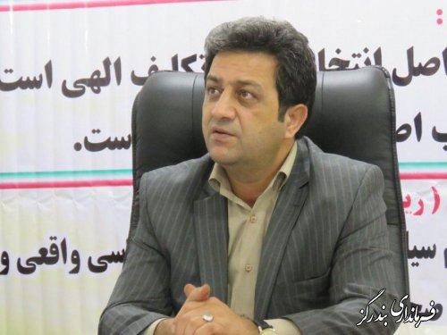 نامزدهای انتخاباتی ستادهای تبلیغاتی خود را ظرف 24 ساعت آینده به فرمانداری معرفی نمایند