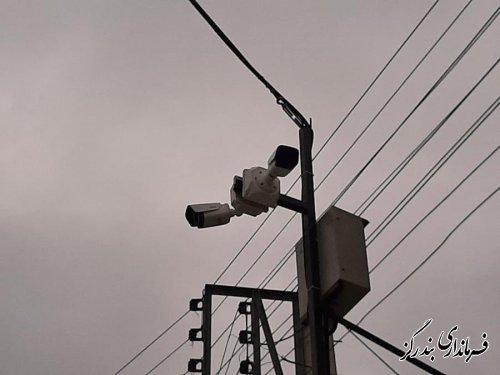 ۵ دوربین مداربسته در روستای لیوان غربی نصب شد