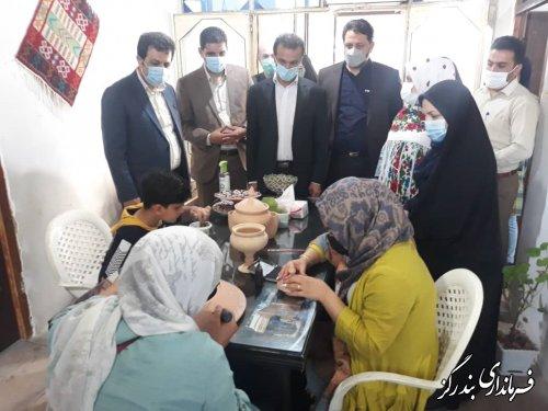 اولین خانه صنایع دستی شهرستان بندرگز افتتاح شد