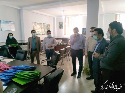 فرماندار بندرگز آخرین مراحل آمادهسازی برگزاری انتخابات را بررسی کرد