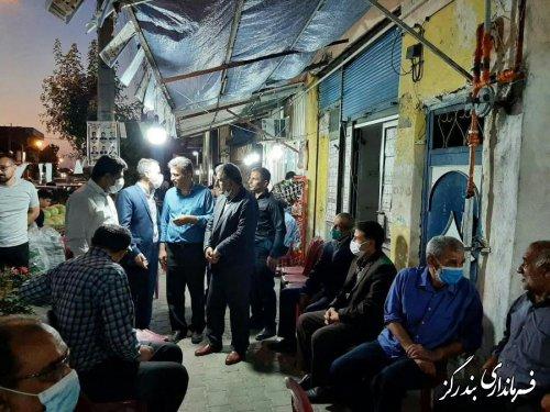 بازدید بخشدار نوکنده از ستادهای تبلیغاتی نامزدهای شوراهای اسلامی شهر و روستاها