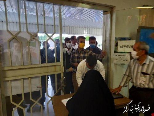 توزیع صندوق های شعب اخذ رای در نوکنده