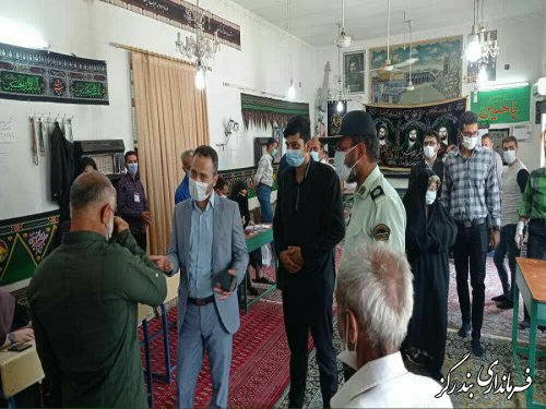 500 نفر انتخابات بخش نوکنده را برگزار می کنند