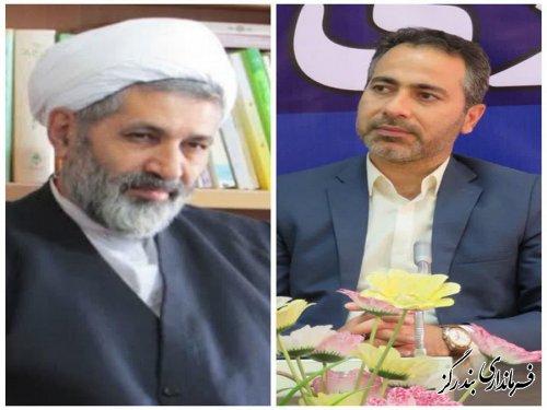 قدردانی امام جمعه و بخشدار از حضور حماسی مردم نوکنده در انتخابات