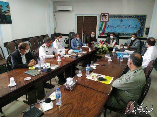 جلسه شورای ترافیک شهرستان بندرگز برگزار شد