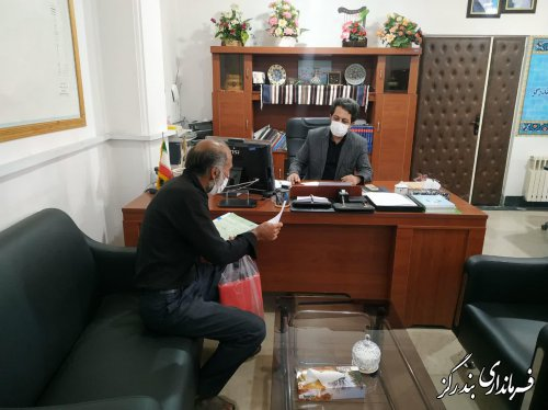 ملاقات عمومی فرماندار بندرگز در اولین روز از هفته دولت برگزار شد