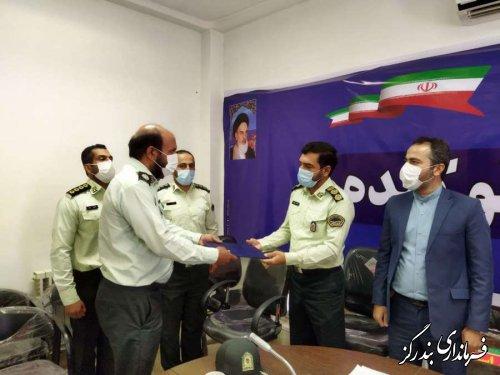 فرمانده جدید انتظامی نوکنده منصوب شد