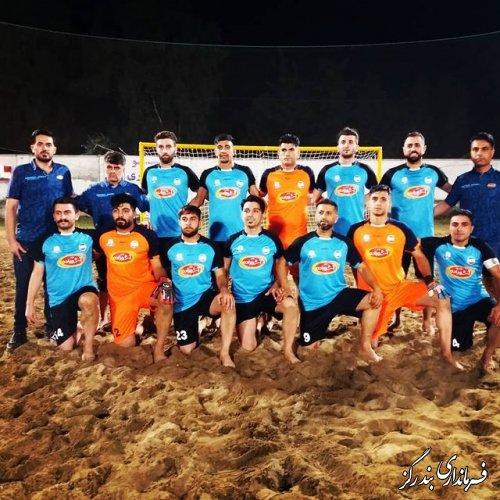 شروع قدرتمندانه تیم ملوان بندرگز در  لیگ دسته اول فوتبال ساحلی کشور