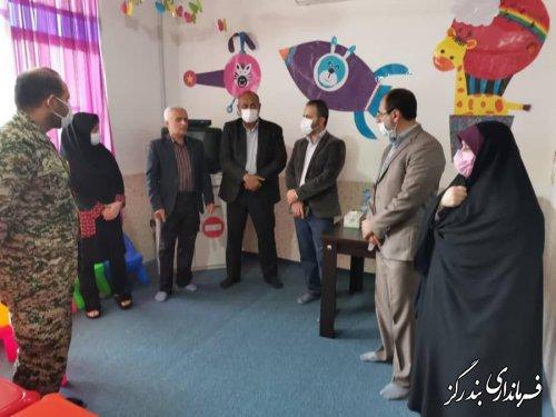 بازدید مسوولان محلی از خانه قرآن در شهر نوکنده