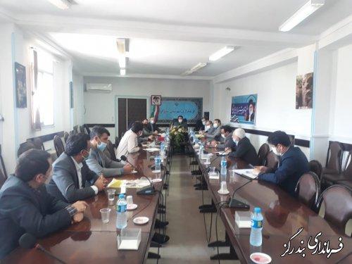 جلسه شورای مسکن شهرستان بندرگز برگزار شد